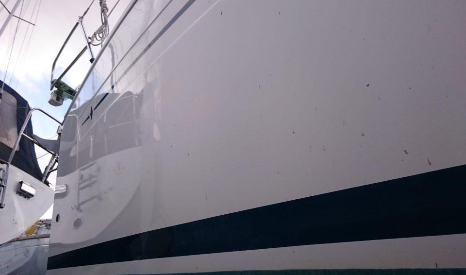 Zeilboot polijsten & verzegelen